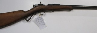 Winchester model 1904 bolt action rim fire rifle in 22LR