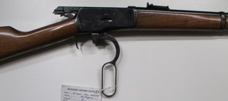 Chiappa model 1892 lever action centrte fire rifle in 357 Magnum