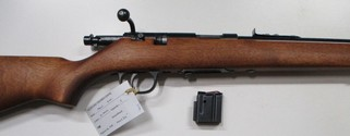 Marlin model 25MN bolt action rim fire rifle in 22 Magnum