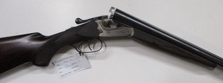 Merkel model 400 double barrel box lock shotgun in 12 gauge