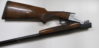 Stirling Folder single barrel hammer less shotgun in 12 gauge