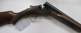 Boito model A680 box lock double barrel shotgun in 12 gauge