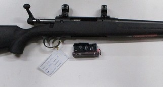 Savage Axis bolt action centre fire rifle in 223Rem
