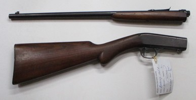 Browning Model A semi auto rim fire rifle in 22LR