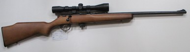 Marlin model XT22 bolt action rim fire rifle in 22LR
