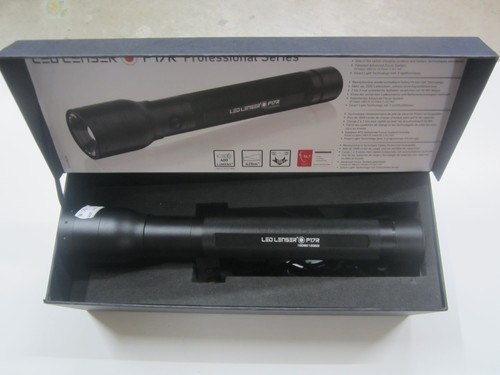 Led Lenser P17R rechargeable torch