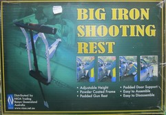 Big Iron Shooting Rest